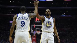 Los Warriors sacaron la victoria frente a los Clippers.