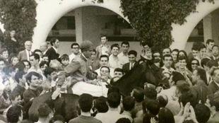 El duque de Alburquerque venció en el G.P. Madrid-68, con...