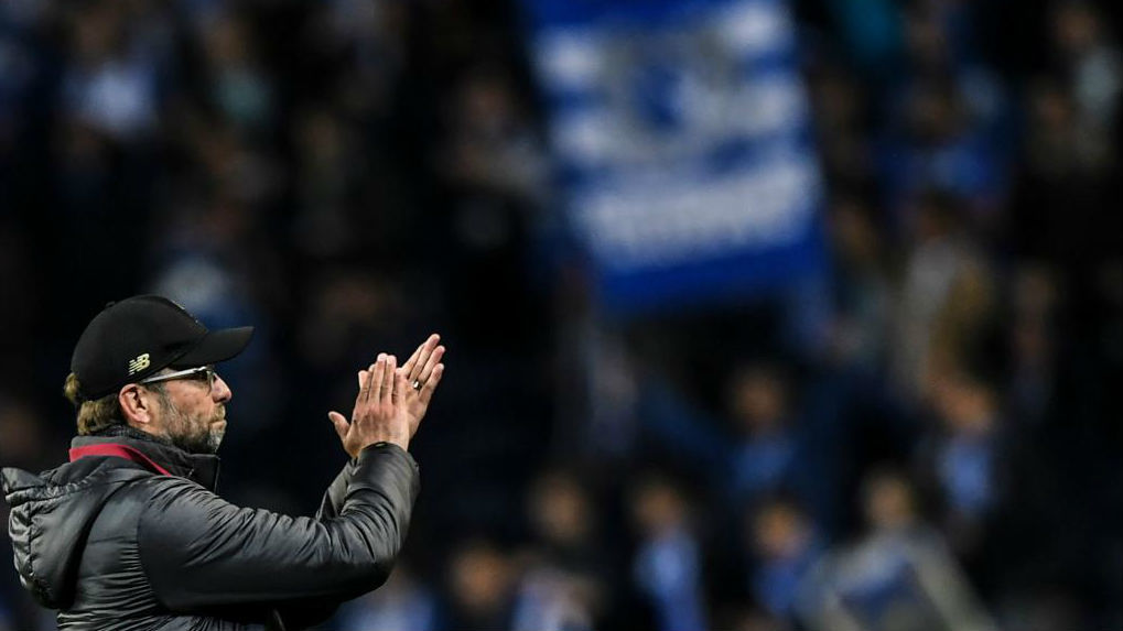 El entrenador del Liverpool, Jürgen Klopp.