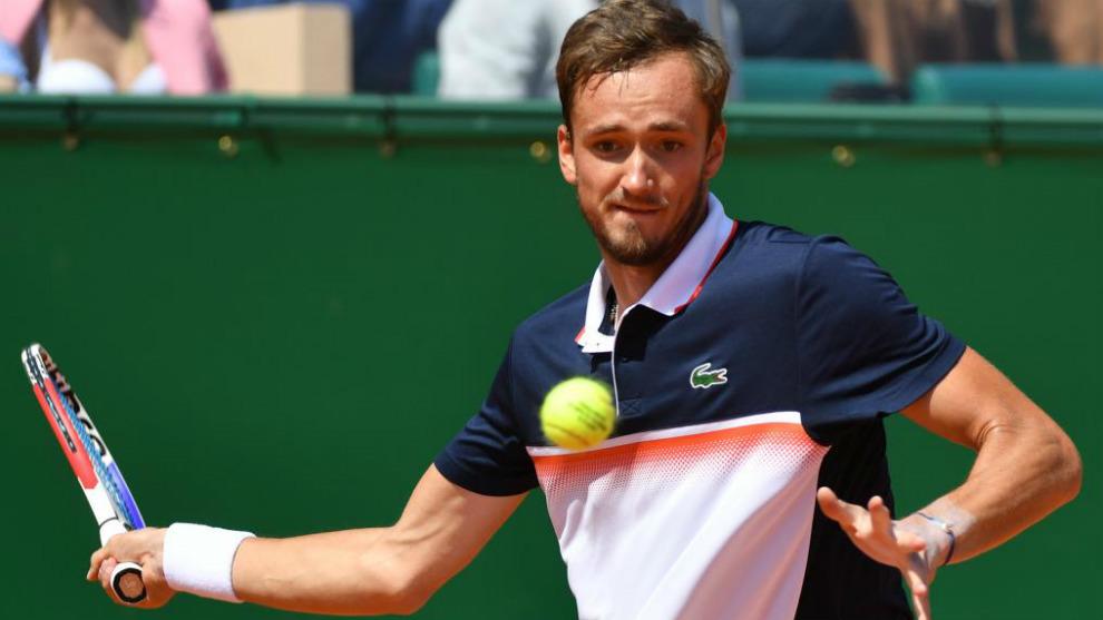 Daniil Medvedev, vencedor de Djokovic