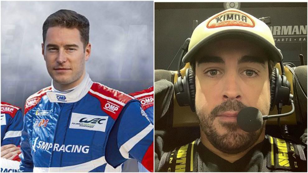 Vandoorne y Alonso.