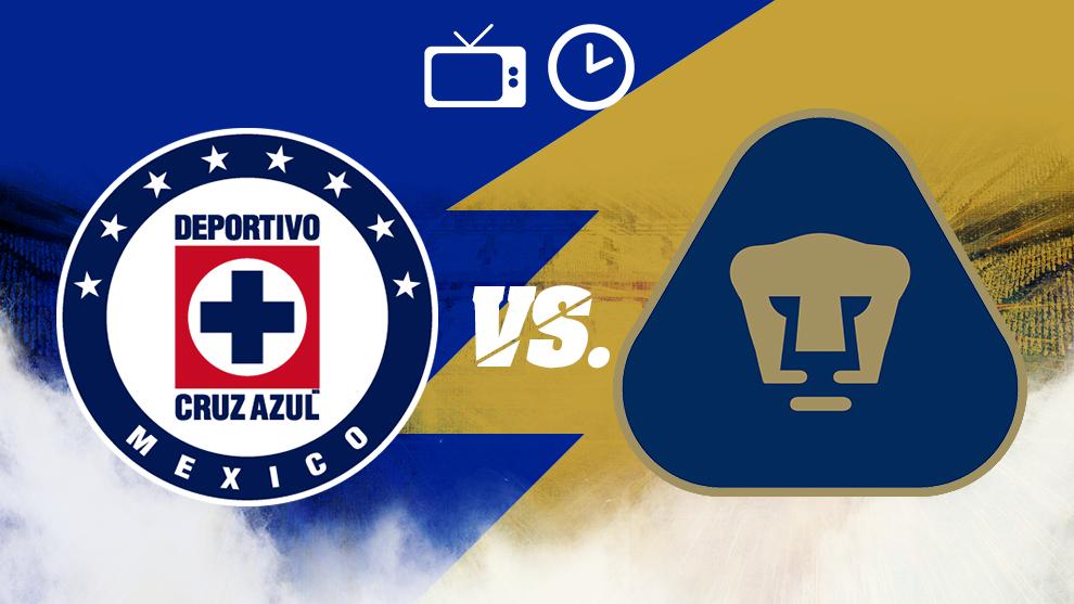 Cruz Azul vs Pumas, hora y dónde ver