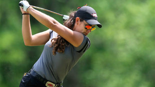 María Fassi durante el torneo del SEC.