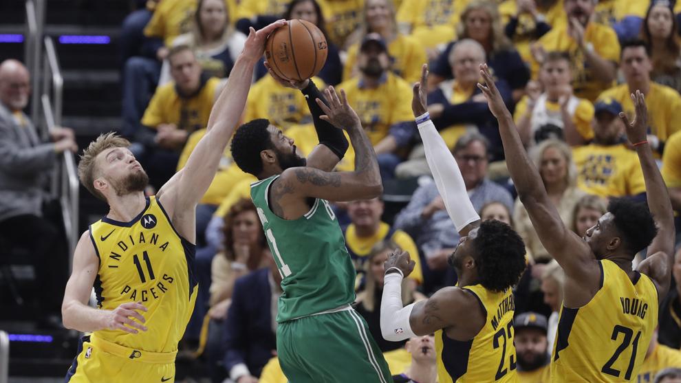 Los Celtics ponen pie y medio en la siguiente ronda.