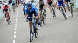 Alejandro Valverde en la Amstel Gold Race 2018
