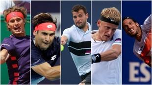 Los cinco invitados del Barcelona Open Banc Sabadell