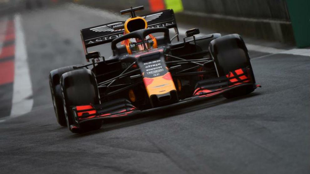 Verstappen, durante el pasado GP de China.