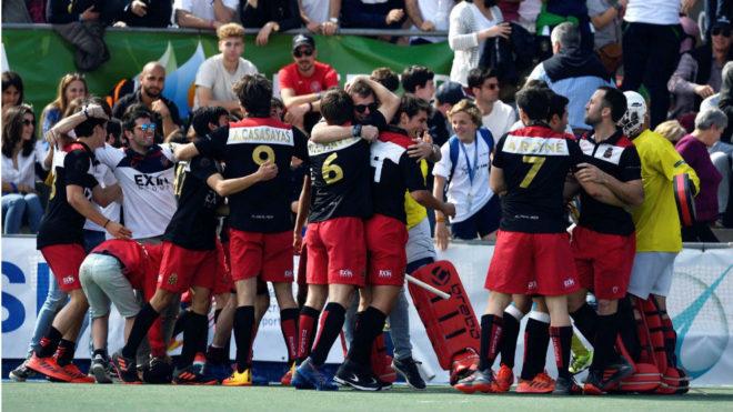 Los jugadores del Polo celebran una victoria