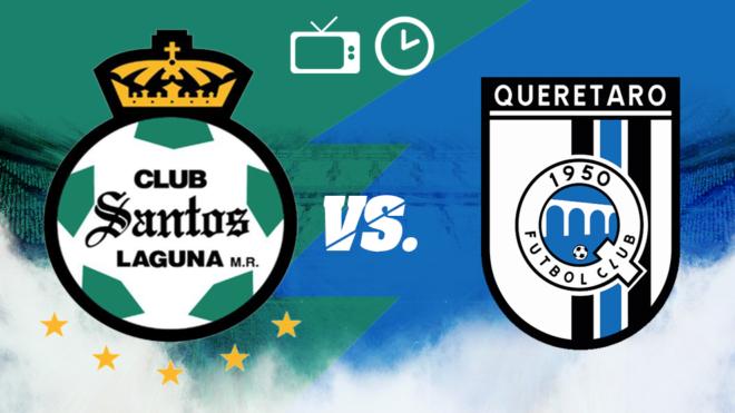 Santos vs Querétaro: Horario y dónde ver