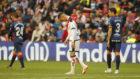 De Tomás se lamenta ante el Huesca.