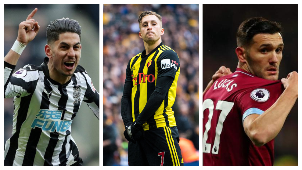 Los tres españoles goleadores en Premier
