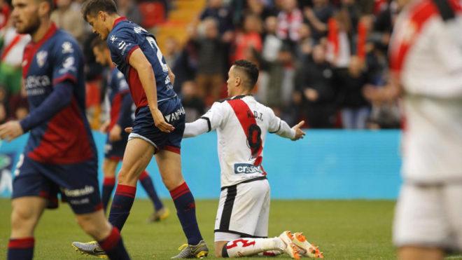 Raúl de Tomás podría perderse los dos próximos partidos de LaLiga.