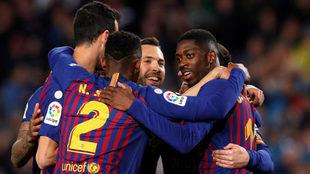 En Barcelona están felices por lo cercano del título.