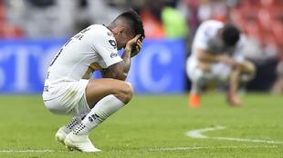 El sufrimiento de los jugadores de Pumas