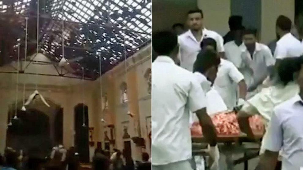 Resultado de imagen para muertos en sri lanka