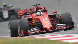 Sebastian Vettel, en el Gran Premio de China.