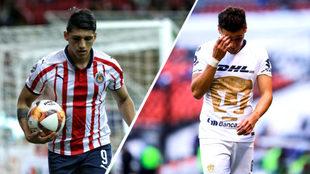 Torneo de pesadilla para Chivas y Pumas.