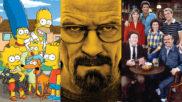 'Los Simpson', 'Breaking Bad' y 'Cheers' están entre las mejores...
