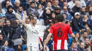 El gesto de Bale a la grada tras ser pitado ante el Athletic.