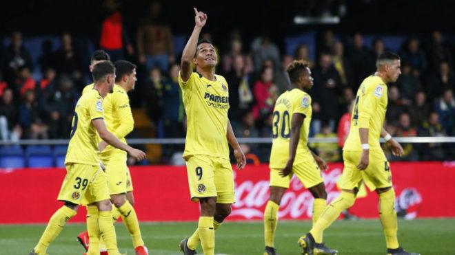 Bacca celebra el gol en La Cerámica.