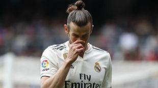 Bale, en el partido de ayer ante el Athletic.