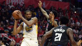 Durant fue el máximo anotador con 33 puntos