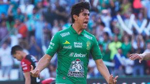 José Juan Macías es el mejor delantero mexicano del torneo