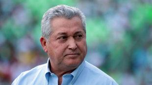 Vucetich en un partido del Querétaro.
