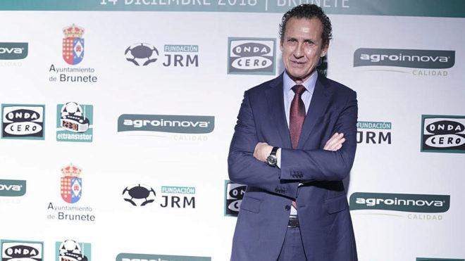 Jorge Valdano, en un acto.
