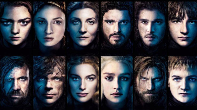Algunos de los personajes de las ocho temporadas de 'Juego de Tronos'