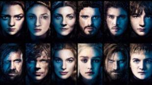 Algunos de los personajes de las ocho temporadas de 'Juego de...