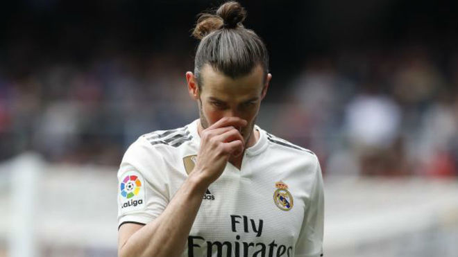 Bale, en el partid ante el Athletic
