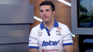 Habló de sus inicios en la Escudería Telmex-Telcel