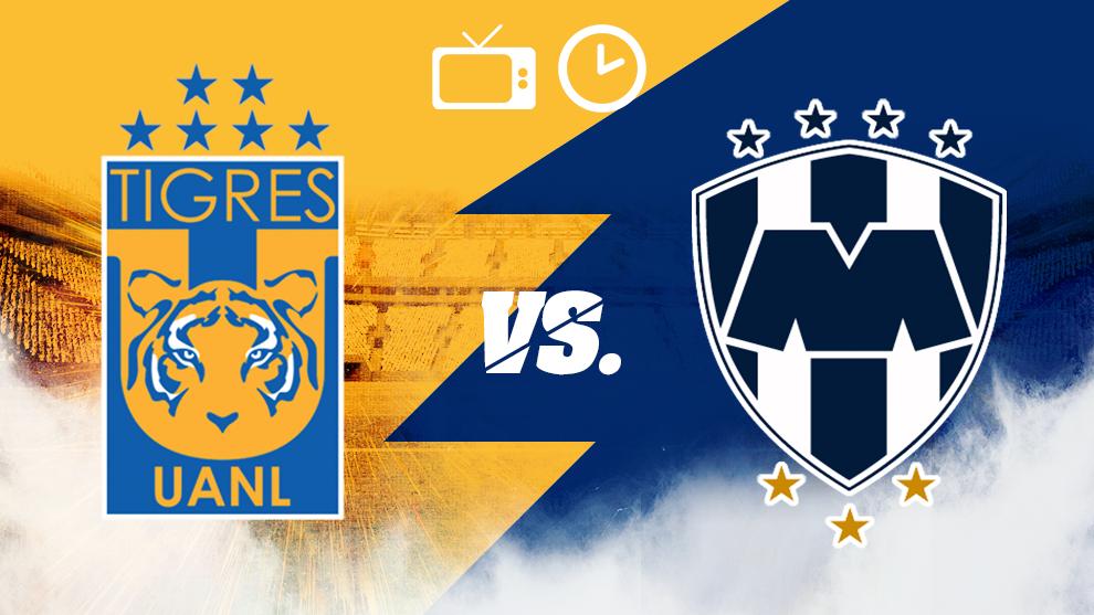 Tigres y Monterrey, horario y dónde ver