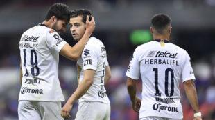 Pumas fue eliminado al perder en el Estadio Azteca.