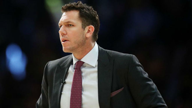 El ex entrenador de los Lakers Luke Walton acusado de abuso sexual