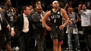 El cuerpo técnico de los Nets aparta a Jared Dudley tras su pelea con...
