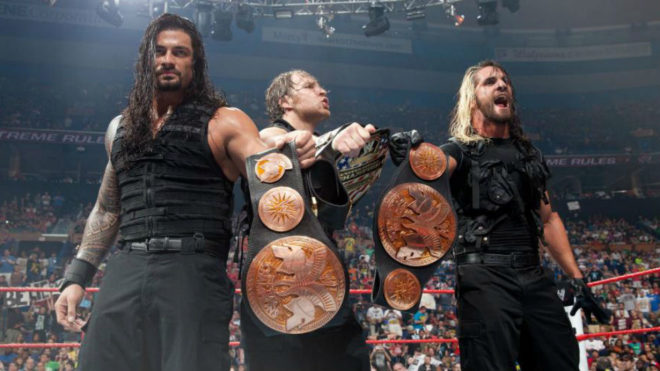 The Shield en su primera etapa como campeones.