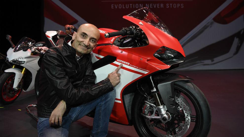 Claudio Domenicali, CEO de Ducati.