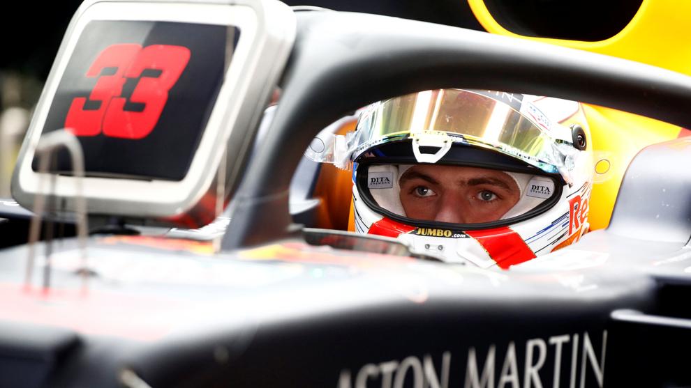 Max Verstappen en el GP de China