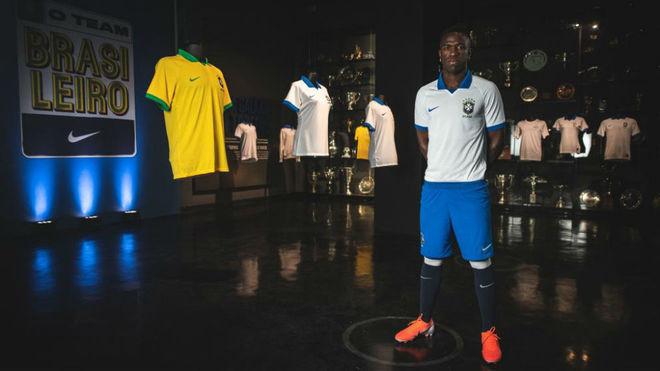 Vinicius es la imagen de Nike y de la selección brasileña.