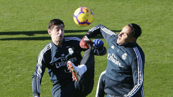 Courtois and Navas.