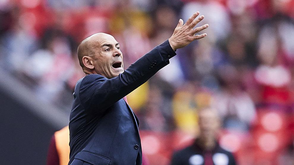 """Paco Jémez: """"Le estamos pidiendo al Madrid que haga el favor de dejar jugar a Raúl de Tomás"""""""