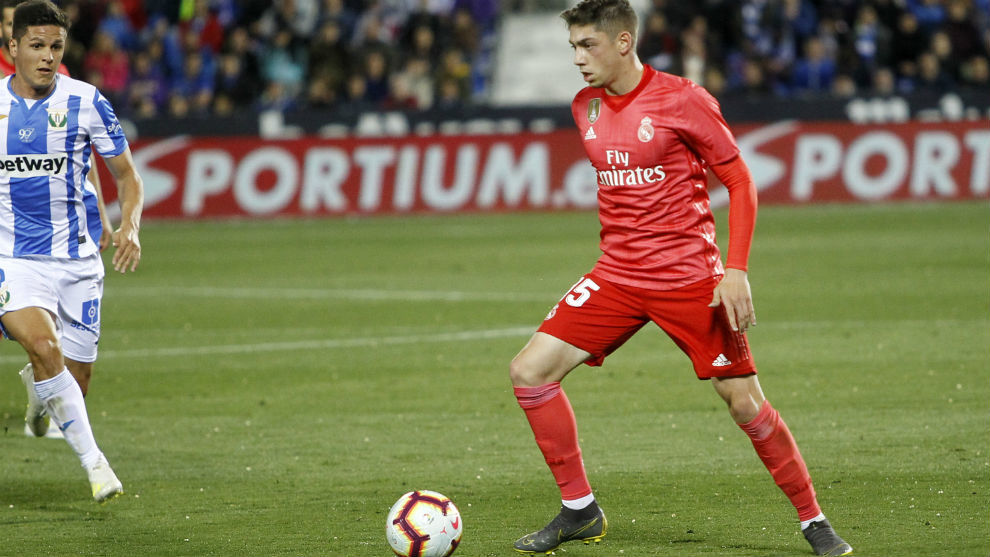 Valverde (20) is highly regarded by Los Blancos.