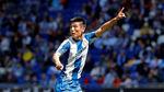 Wu Lei: segundo gol en LaLiga y beso al escudo del Espanyol