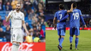 El Getafe - Real Madrid de la jornada 34 de La Liga Santander viene...