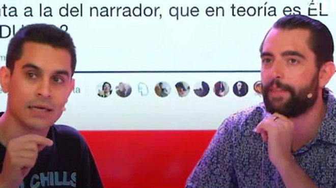 David Suárez junto a Dani Mateo en 'Vodafone Yu'