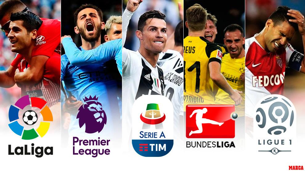 Todo lo que está en juego en las cinco grandes ligas europeas ...