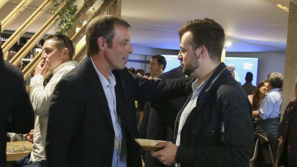 Sandro Rosell, hoy en el Open Banc Sabadell