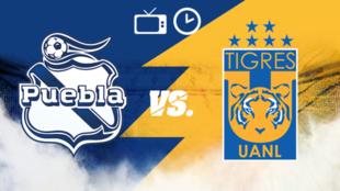 Puebla vs Tigres: Horario y dónde ver por TV
